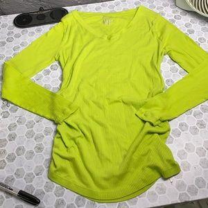 Liz Lange Large V Neck Long Sleeve T